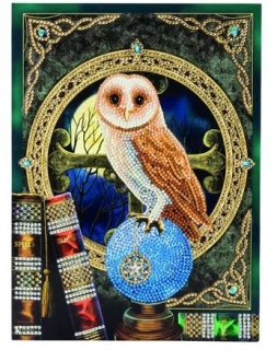 21x29 Owl spell keeper CCK XL